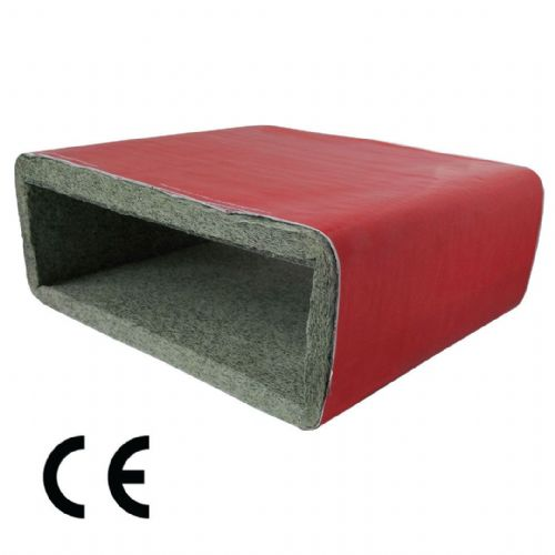 Intumescent Low Profile Ventilation Fire Duct Sleeve - CE Marked (220 x 90 mm)